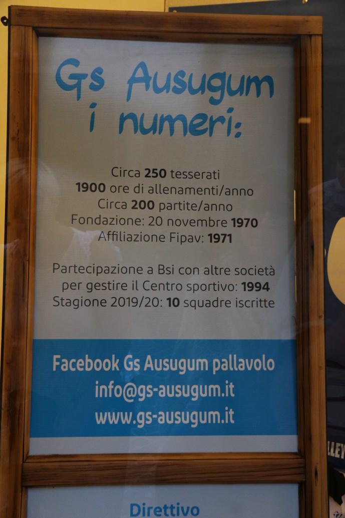 L'Ausugum in numeri