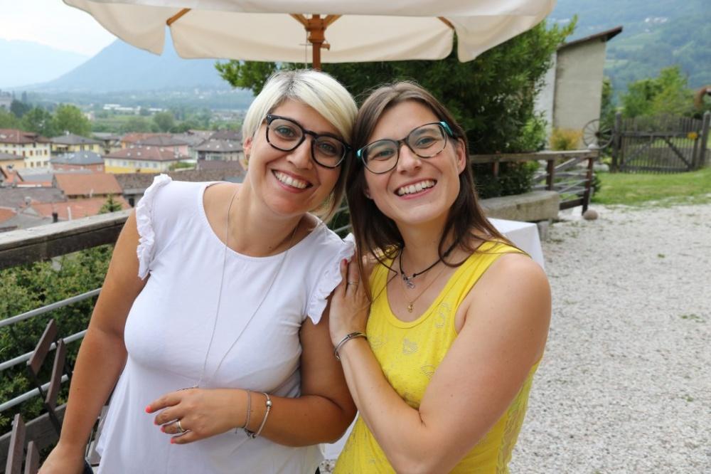 L'allenatrice Nadia Montibeller con Katia Libardi membro del Direttivo GS Ausugum