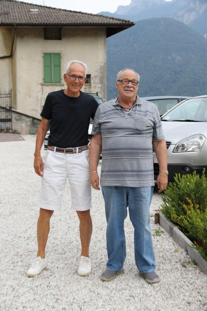 """Il Vice Sindaco Luca Bettega e il direttore di """"Valsugana Sport"""""""
