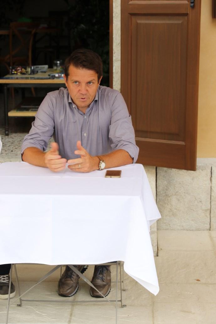 Il Vice Sindaco Luca Bettega