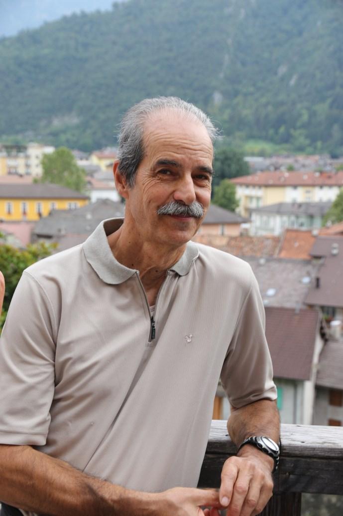 L'allenatore Ferdinando Nesler della 3^ divisione femminile